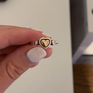 James Avery True Heart Ring